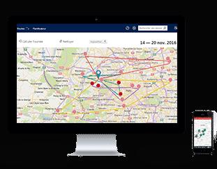 EXANERGY Routes signature PC Smartphone