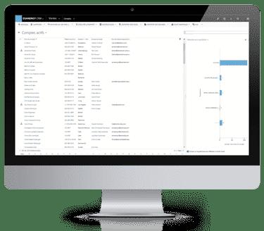 Le logiciel GRC EXANERGY Comptes et contacts