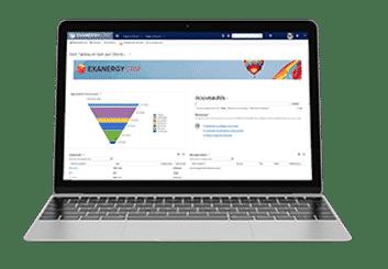 CRM Exanergy logiciel de gestion de la relation client