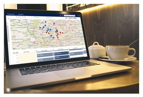 Augmentez vos visites commerciales avec EXANERGY Routes
