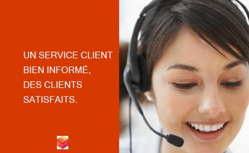 Améliorez votre service client grâce à des collaborateurs informés