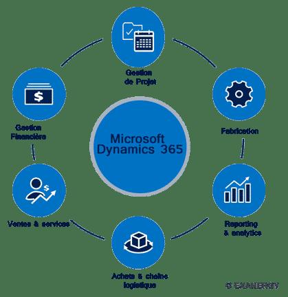 Plateforme ERP Microsoft Dynamics 365 Finance Logistique
