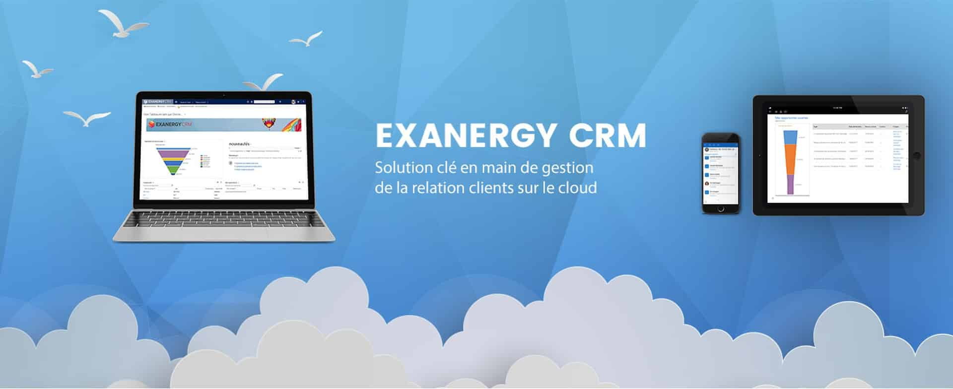 bannière Exanergy CRM