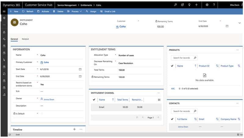 Votre outil de service client, EXANERGY Service Client, vous permet d'administrer vos contrats de niveau de services SLA